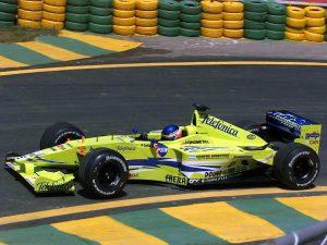 2000 Minardi Fondmetal V10 M02