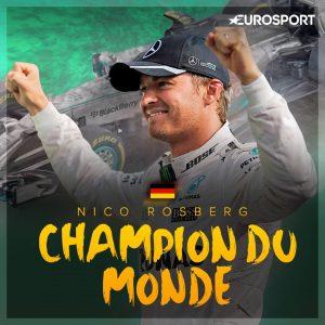 Nico Rosberg Champion 2016