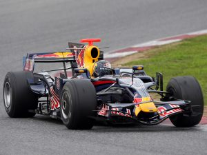 Red Bull Racing Renault V8 RB4 2008