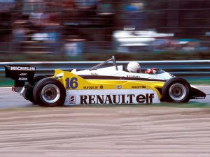 Renault Sport V6 Turbo RE30B 1982