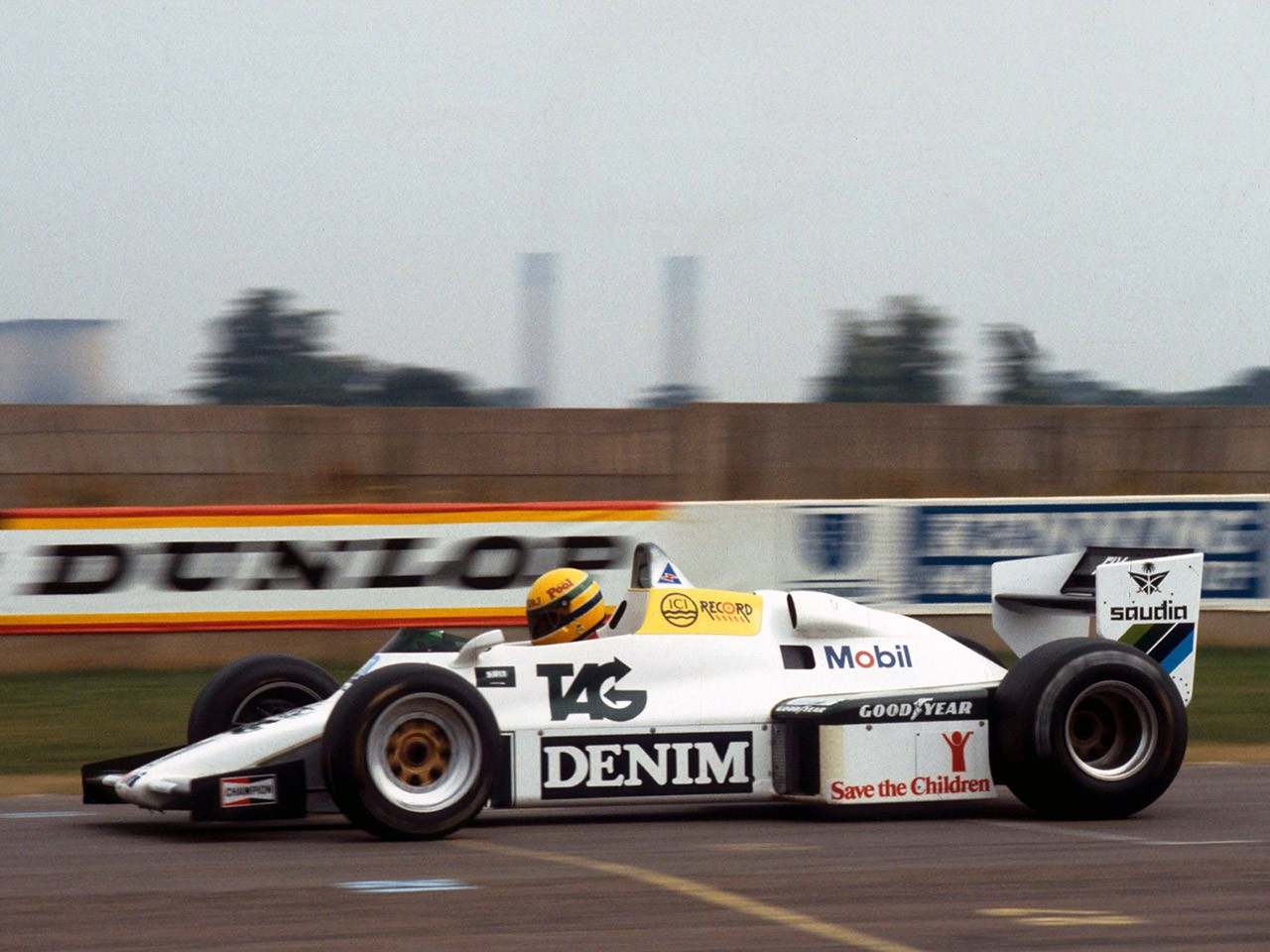 Williams Ford Cosworth V8 FW08C 1983