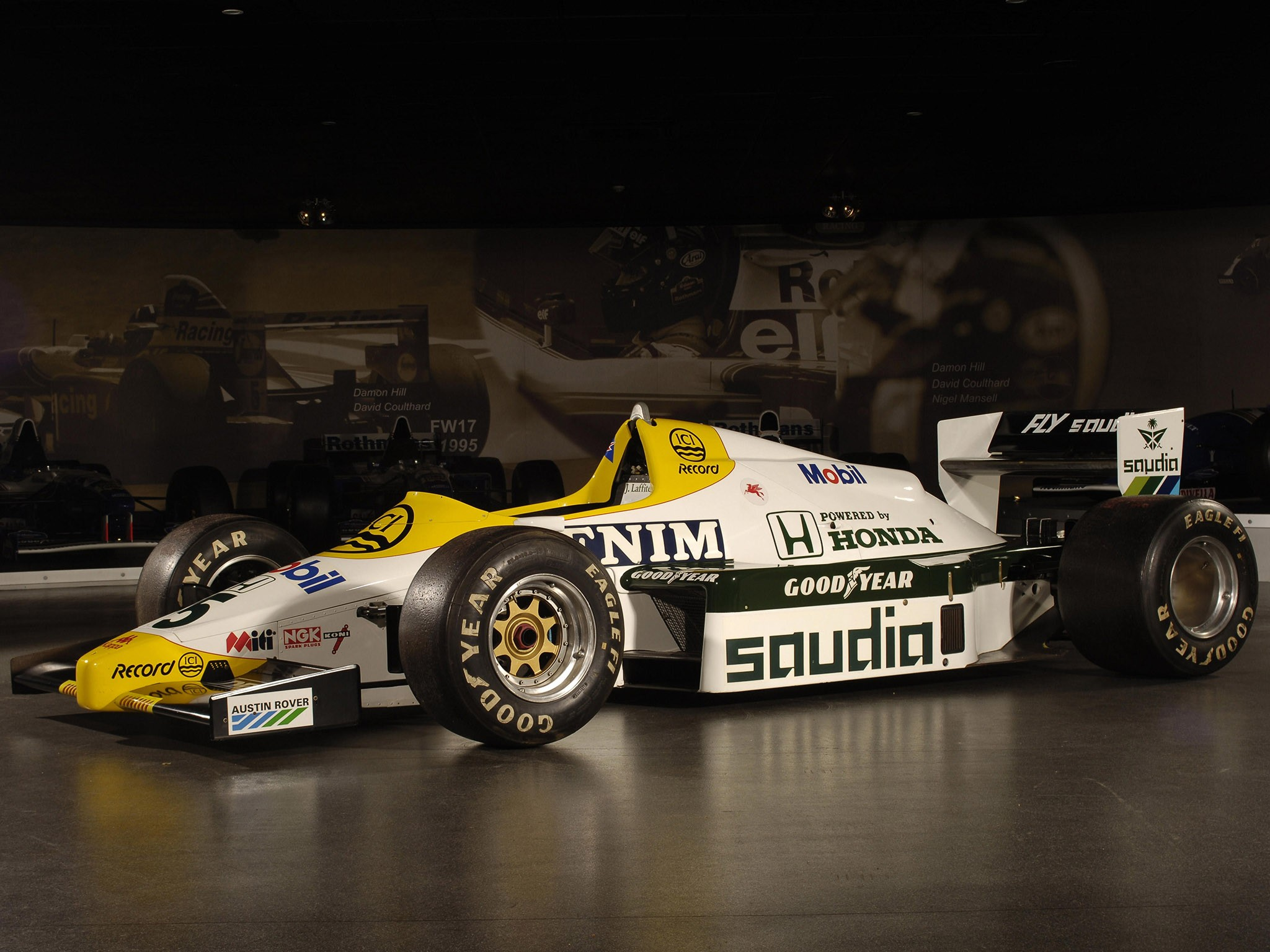 Williams Honda V6 Turbo FW09B 1984 - Formule 1