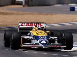 Williams Honda V6 Turbo FW11 1986
