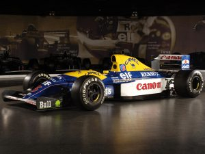 1992 Williams Renault V10 FW14B