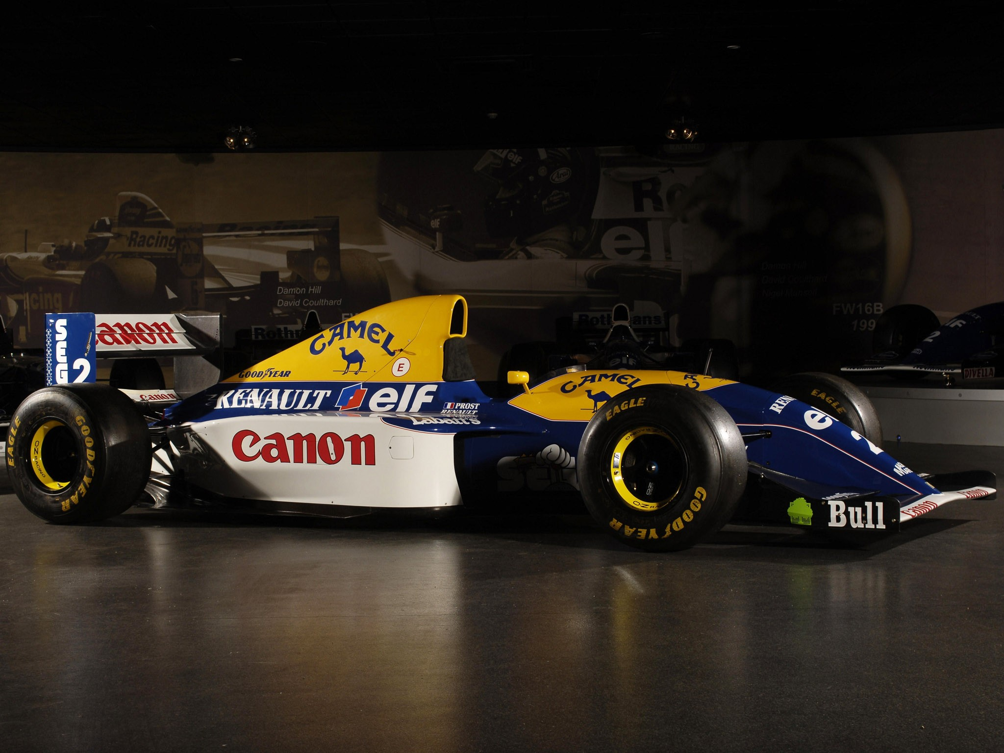 Williams Renault V10 FW15C 1993