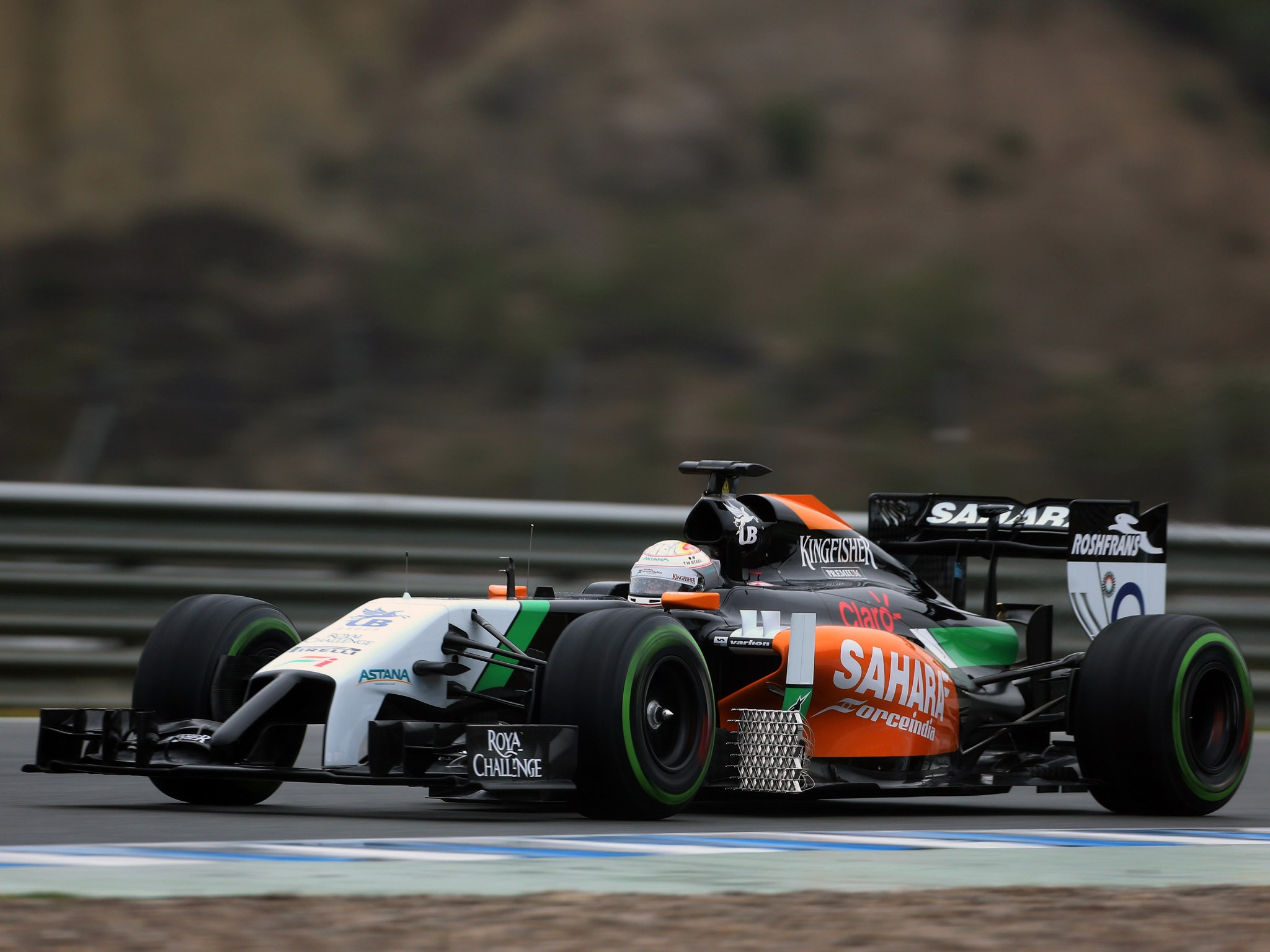 Force India Mercedes V6 vjm07 2014
