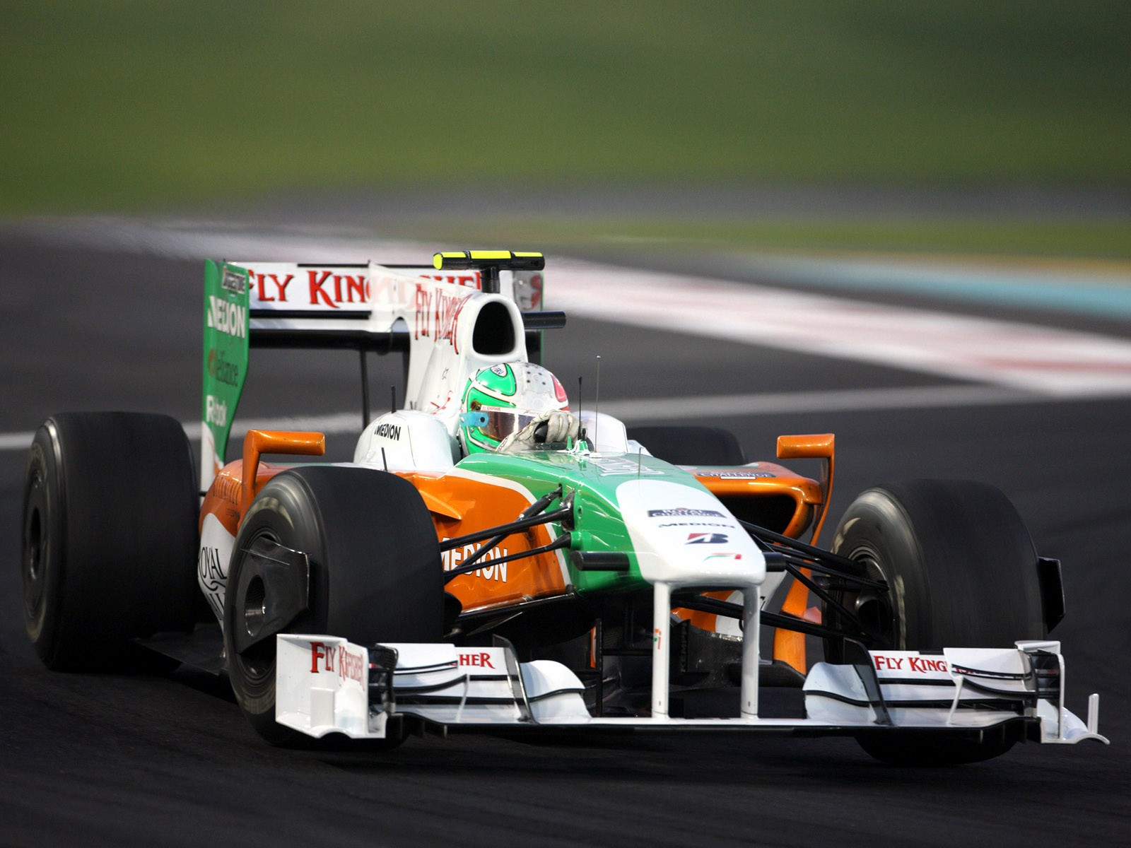 Force India Mercedes V8 vjm02 2009