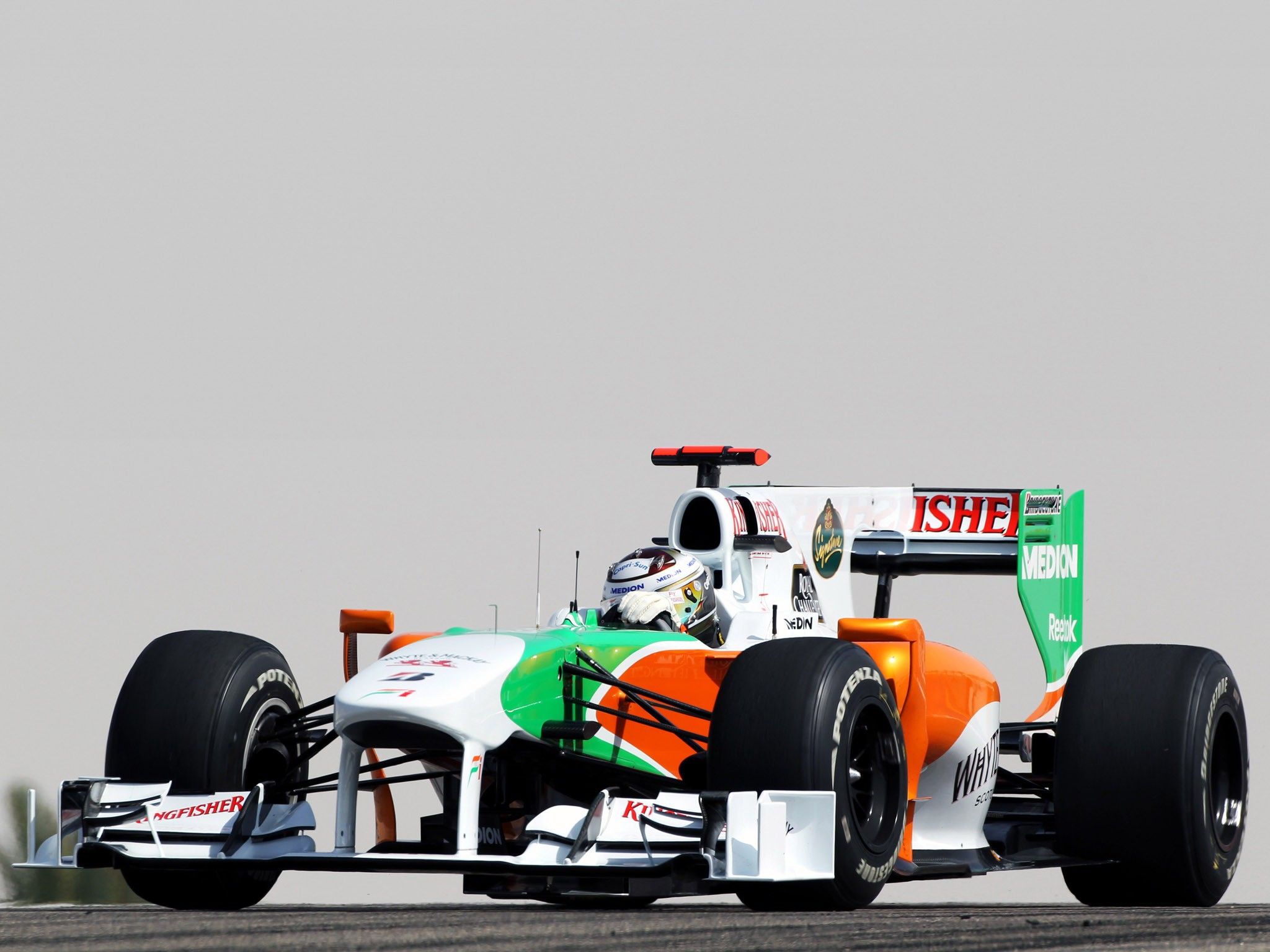 Force India Mercedes V8 vjm03 2010