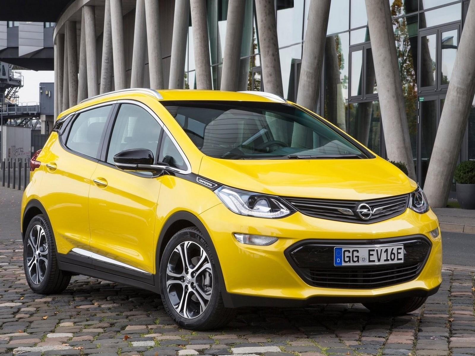Opel Ampera-e 2017 : La première voiture Opel 100% électrique