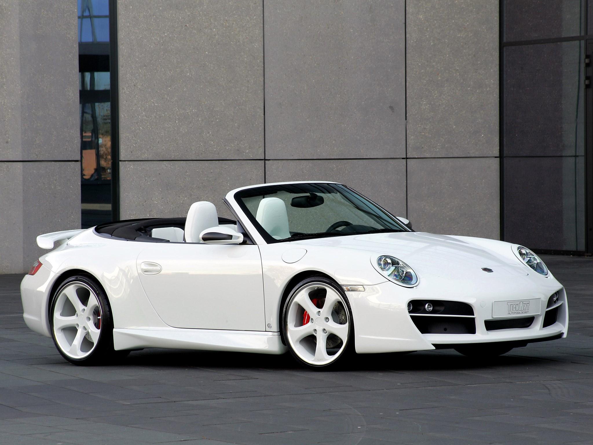 2007 Techart Porsche 911 Carrera 4s Cabriolet 997