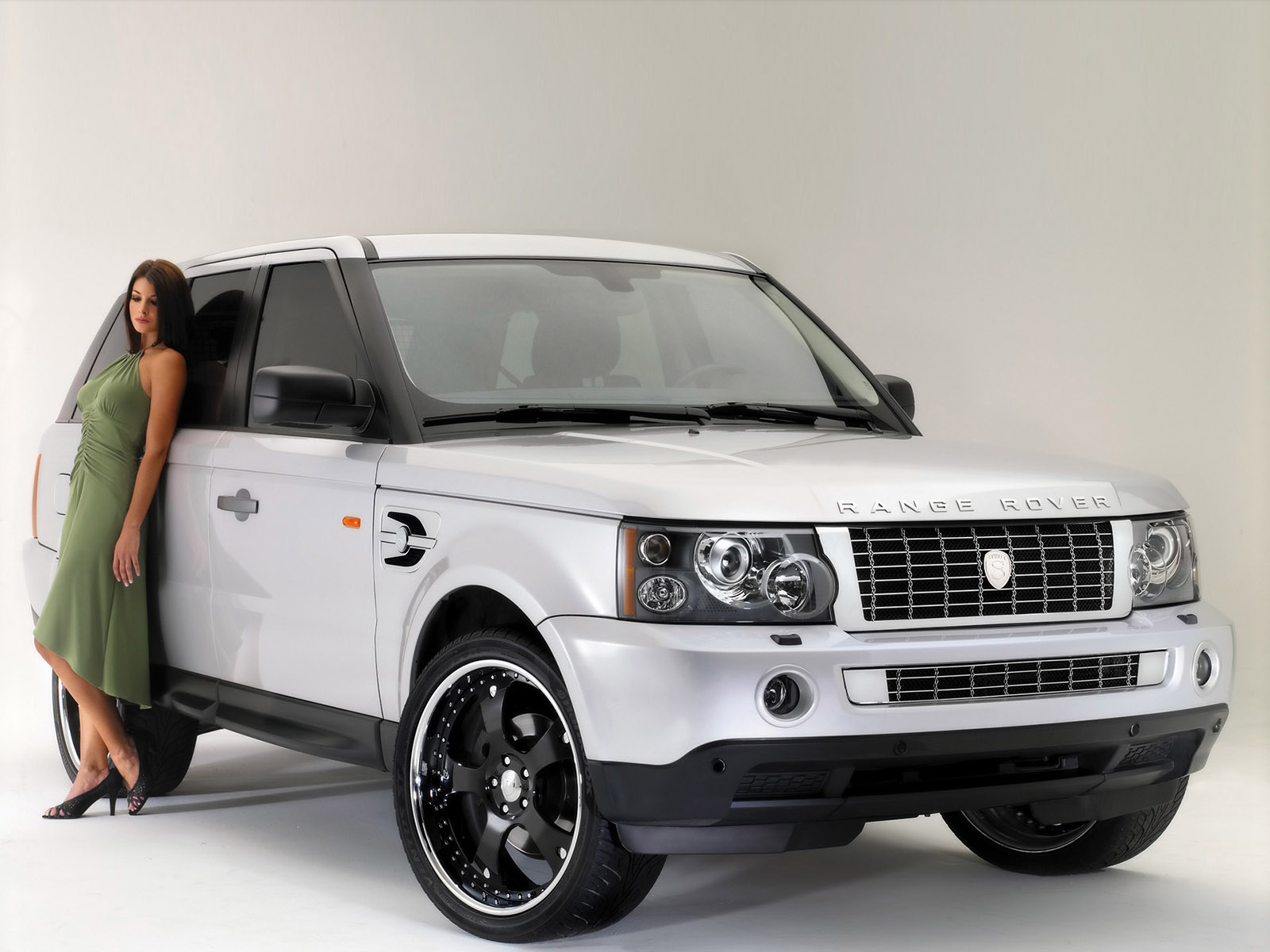 2008 Strut Land Rover Range Rover Sport Ascot Emerald