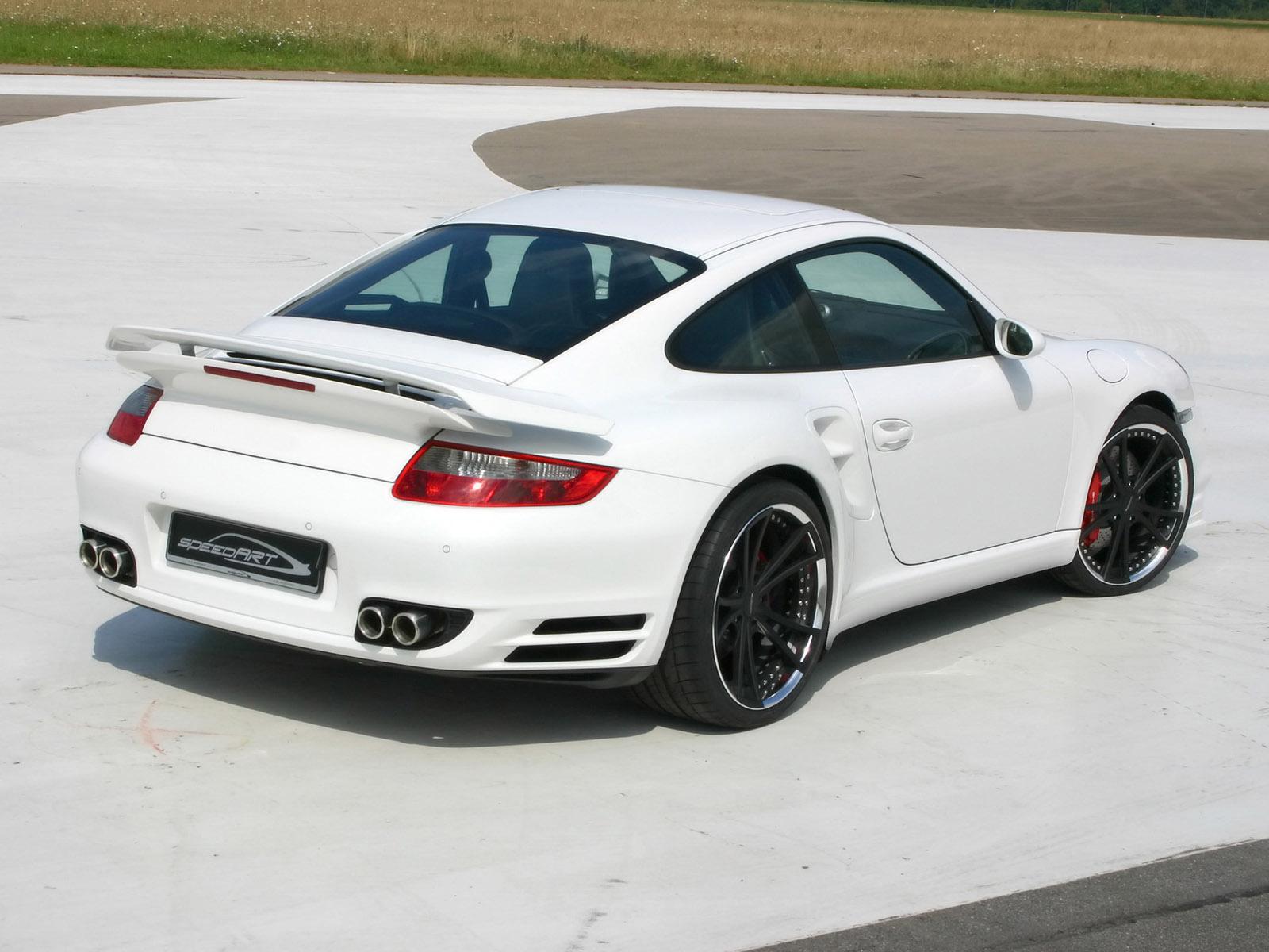 2009 Speedart Porsche 911 Turbo BTR 630