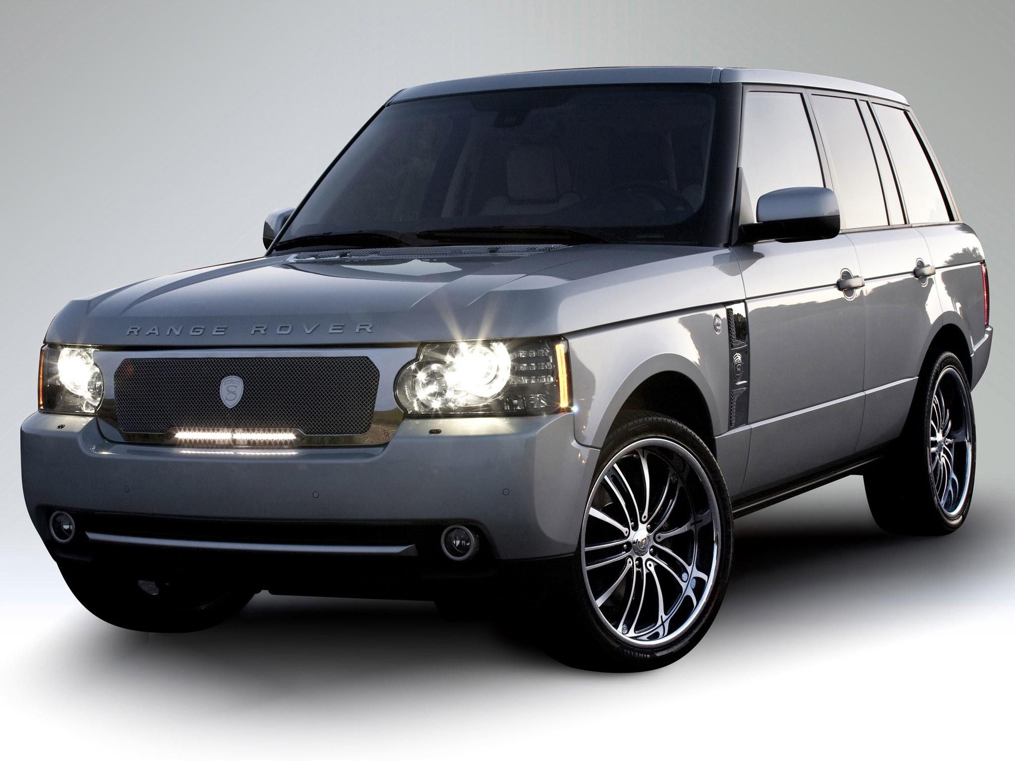 2010 Strut Range Rover Led Illuminated Grille Collection