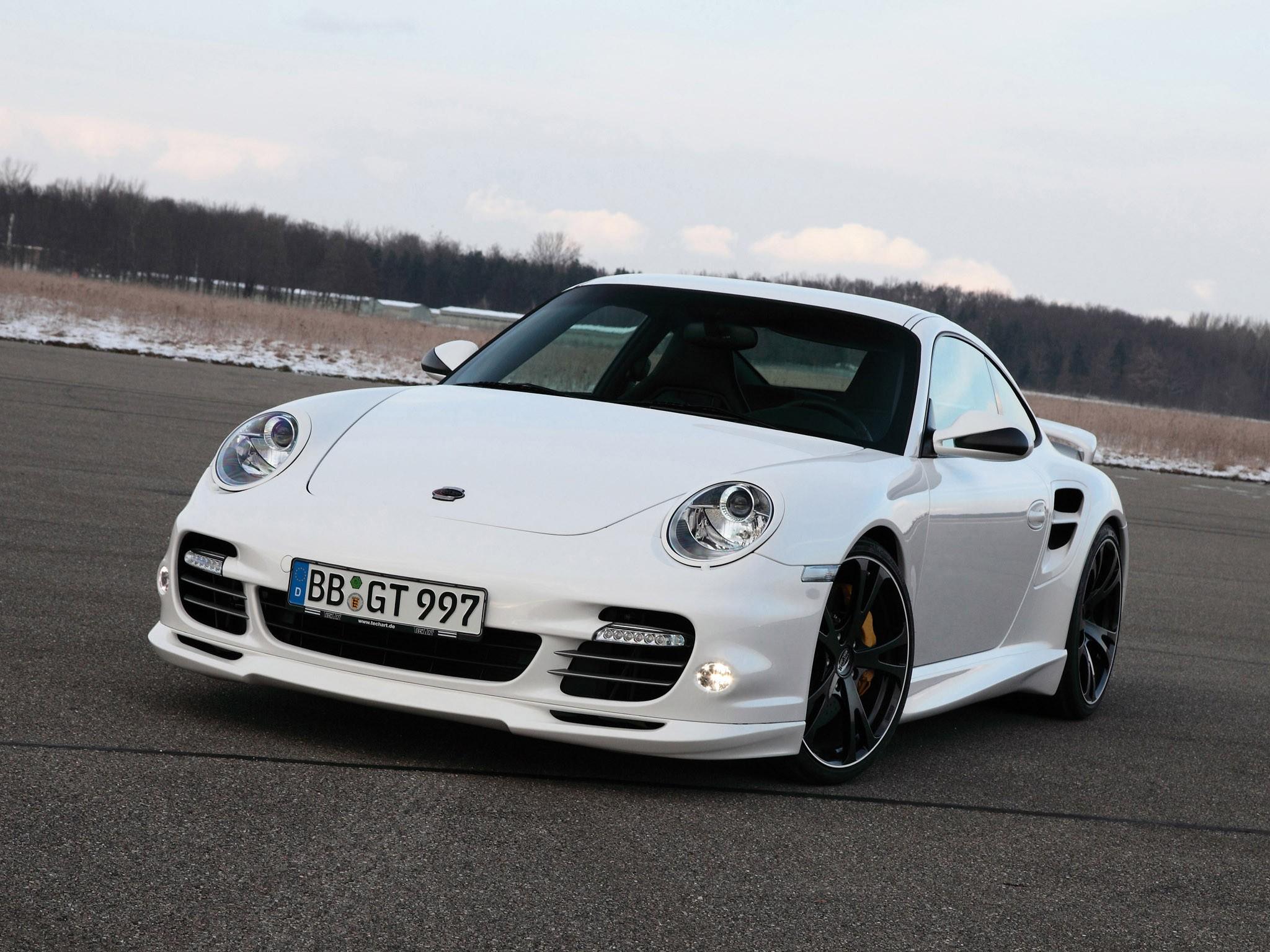 2010 Techart Porsche 911 Turbo S