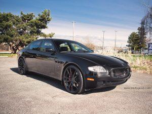 2013 SR Auto Maserati Quattroporte Project Black Diamond
