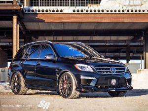 2013 SR Auto Mercedes ML63 Inspired Autosport