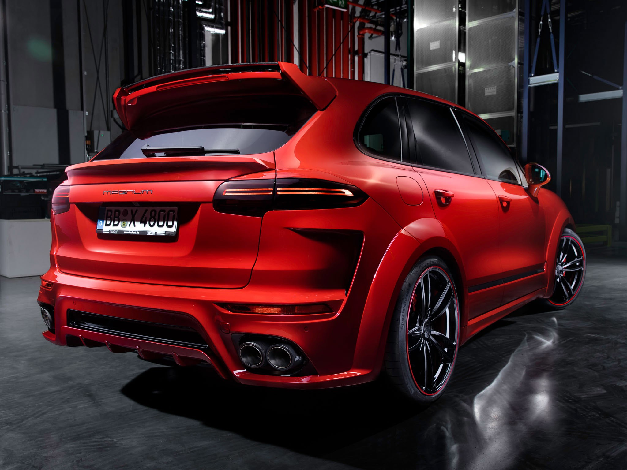 2015 Techart Porsche Cayenne Magnum 958