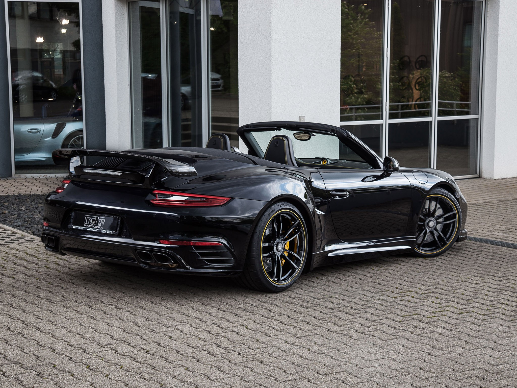 2016 Techart Porsche 911 Turbo Cabriolet 991