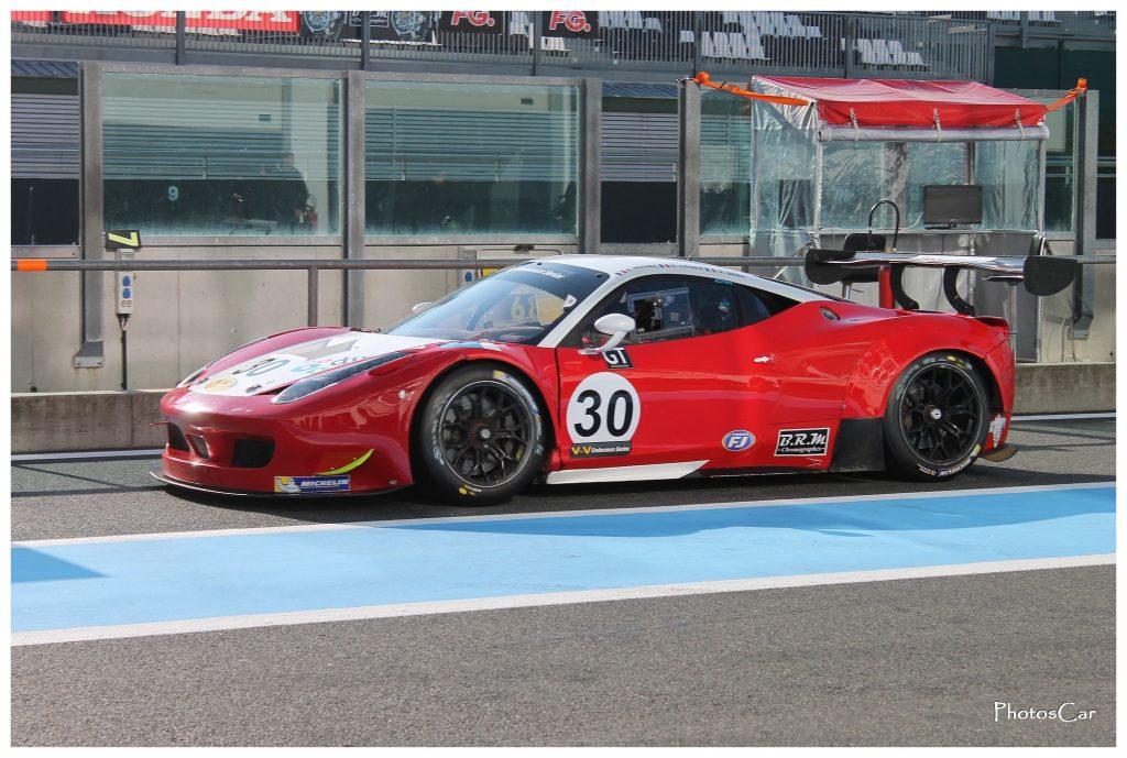 VdeV Magny-Cours 2016 - Ferrari 458 Italia