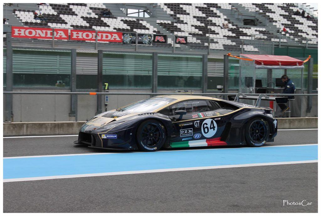 V de V Magny Cours 2016 - Lamborghini Huracan GT3