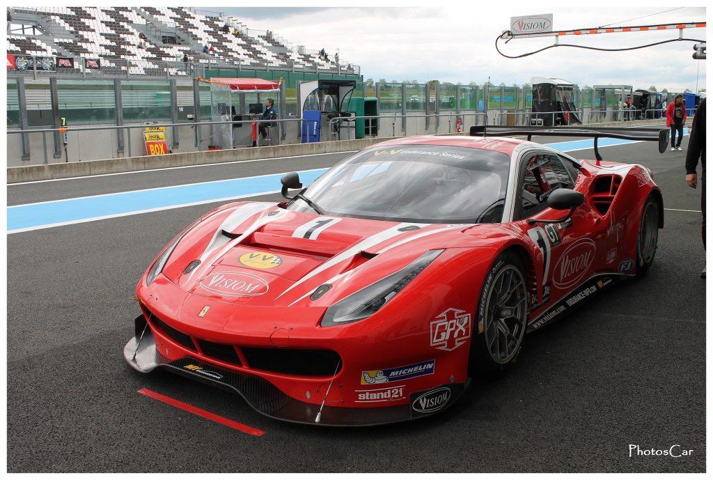 V de V Magny Cours 2016 - Ferrari 488 GT3 n°1 Visiom