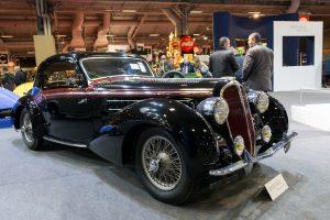 Delahaye 135 M coupe sport Chapron 1938 - Retromobile 2017