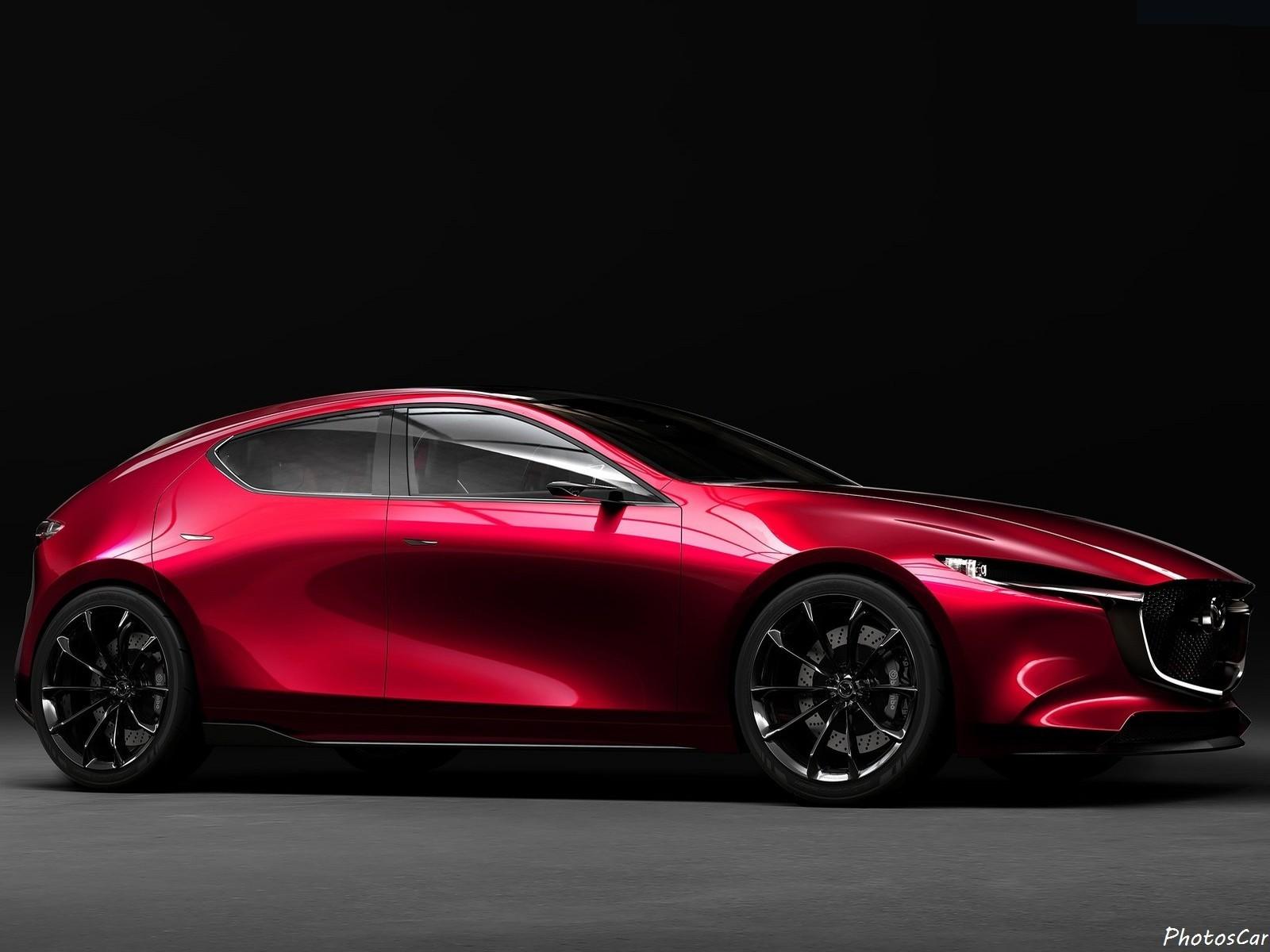 Mazda Kai Concept 2017 : Premières photos de la future Mazda3