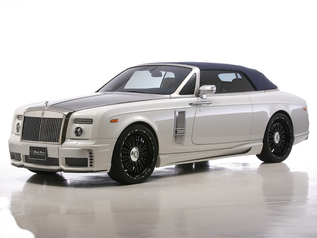 2012 Wald Rolls Royce Phantom Drophead Coupeb Black Bison Edition