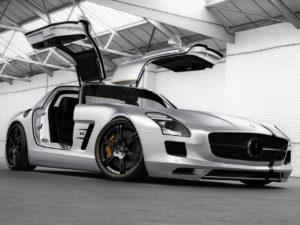 2012 Wheelsandmore Mercedes SLS AMG Silver Wing