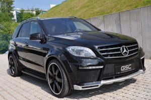 2013 GSC - Mercedes Benz ML Widebodykit