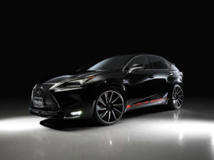2015 Wald Lexus NX 200T F-Sport Black Bison