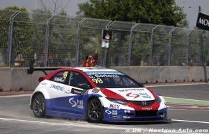 2015 Wtcc - Marrakech - Dusan Borkovic - Honda Civic