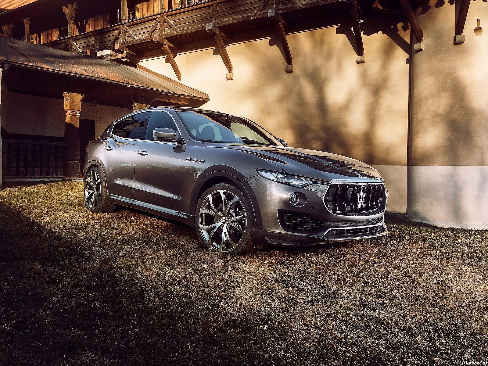 Maserati Levante 2017 - Novitec Tridente