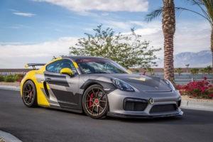 Porsche Cayman GT4 Vorsteiner 2016
