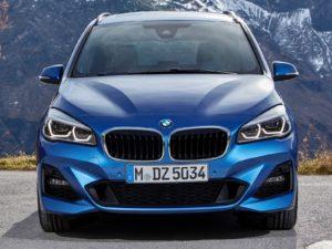 Face avant BMW Série 2 Gran Tourer 2019