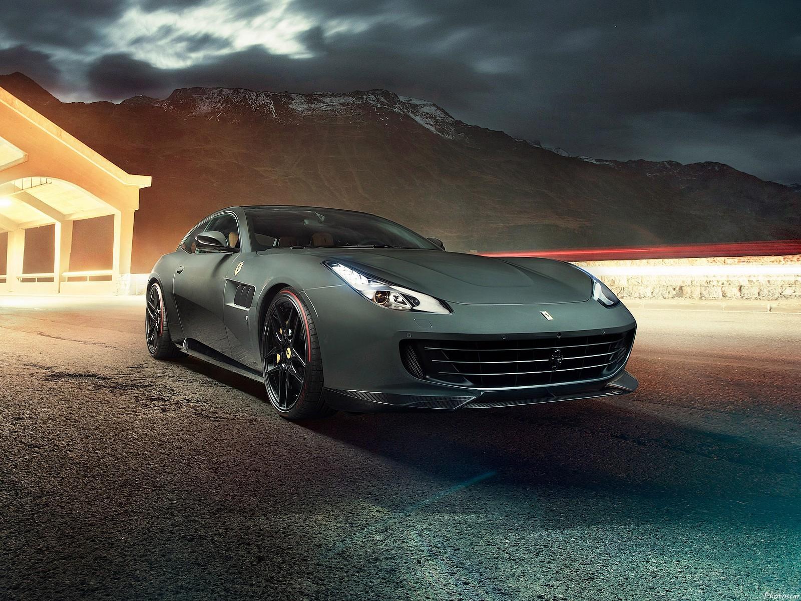 Ferrari GTC4 Lusso 2017 Novitec: kit de carrosserie en fibre de carbone