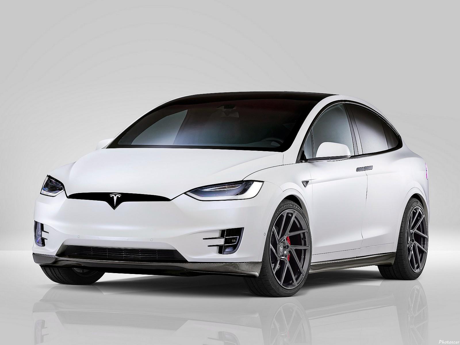 Novitec Tesla Model X 2017: Plusieurs améliorations aérodynamiques