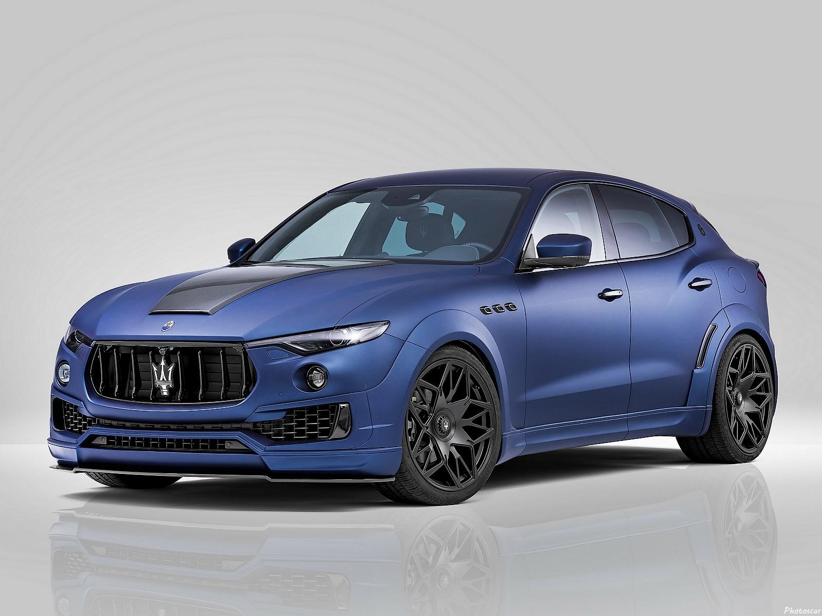 Novitec Tridente Maserati Levante Esteso 2017: Un SUV haut de gamme