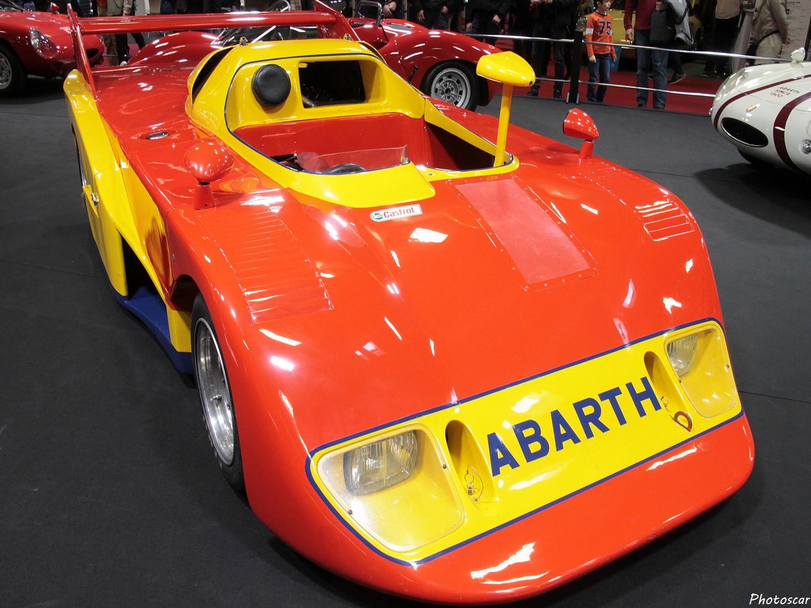 Abarth 2000 Prototype Pininfaina 1974 - Rétromobile 2018