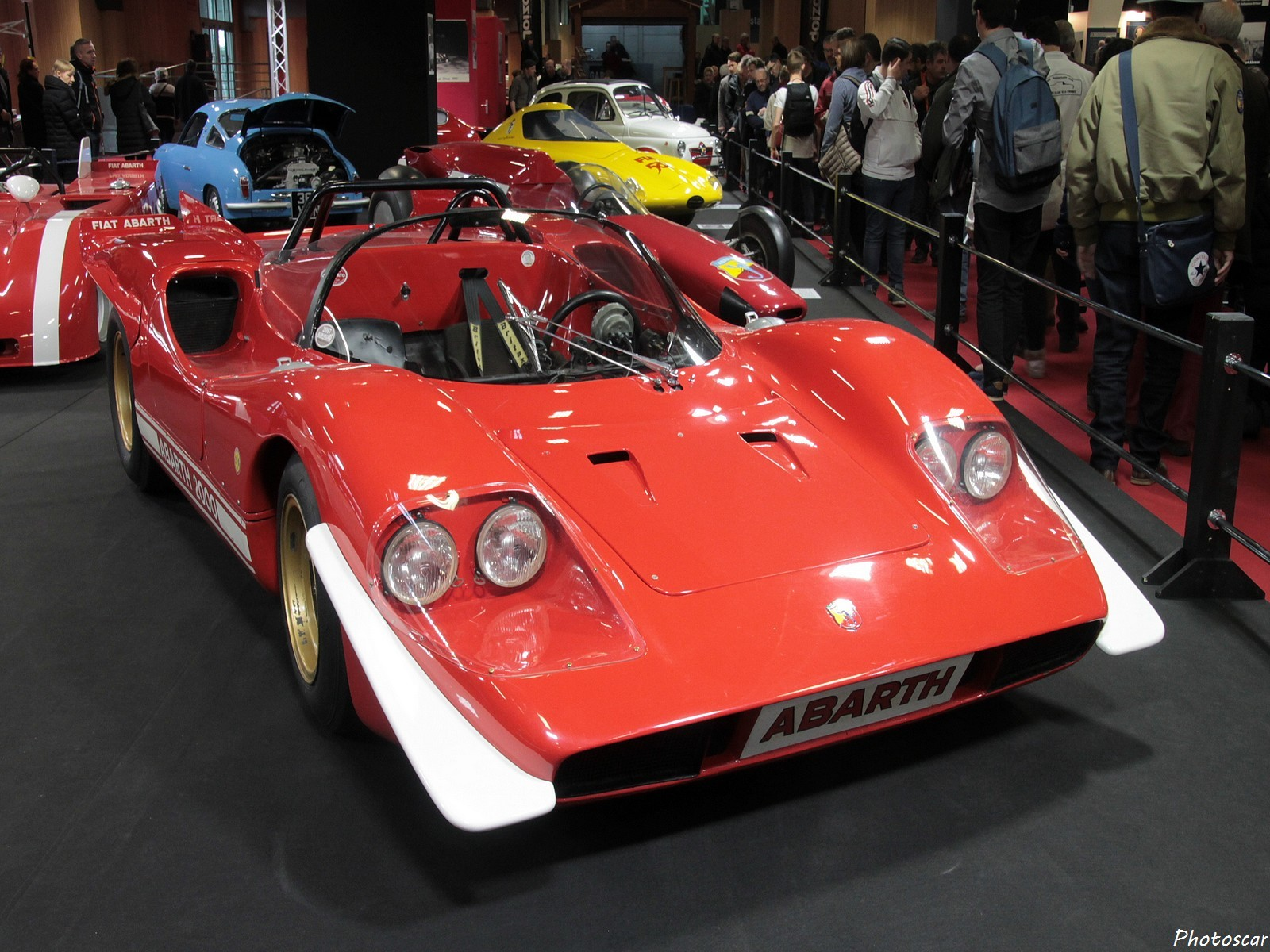 Abarth 2000 Sport 4 Fari 1968 - Rétromobile 2018