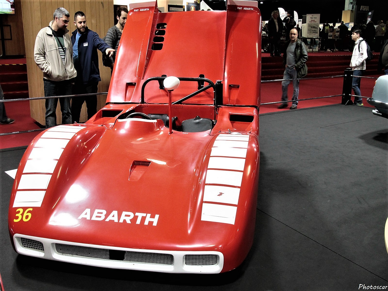 Abarth 2000 Sport Spider Prototype 1969 - Rétromobile 2018
