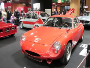 Abarth Simca 2 Mila 6 Gear 1963 - Rétromobile 2018
