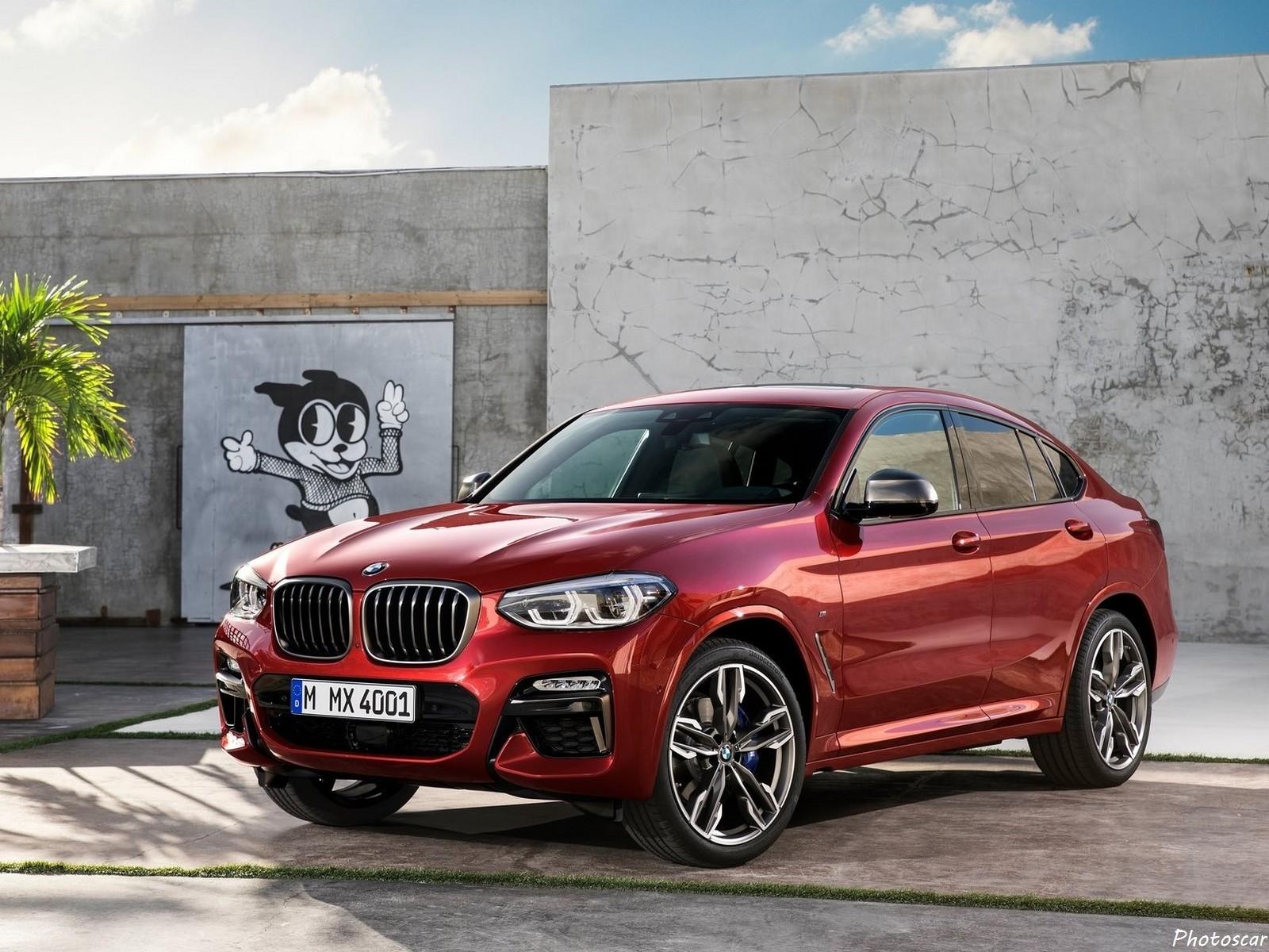 BMW X4 M40D 2019