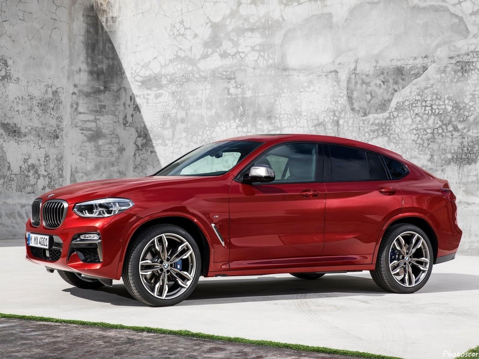 BMW X4 2019 offre un look plus sportif et un affichage tête haute