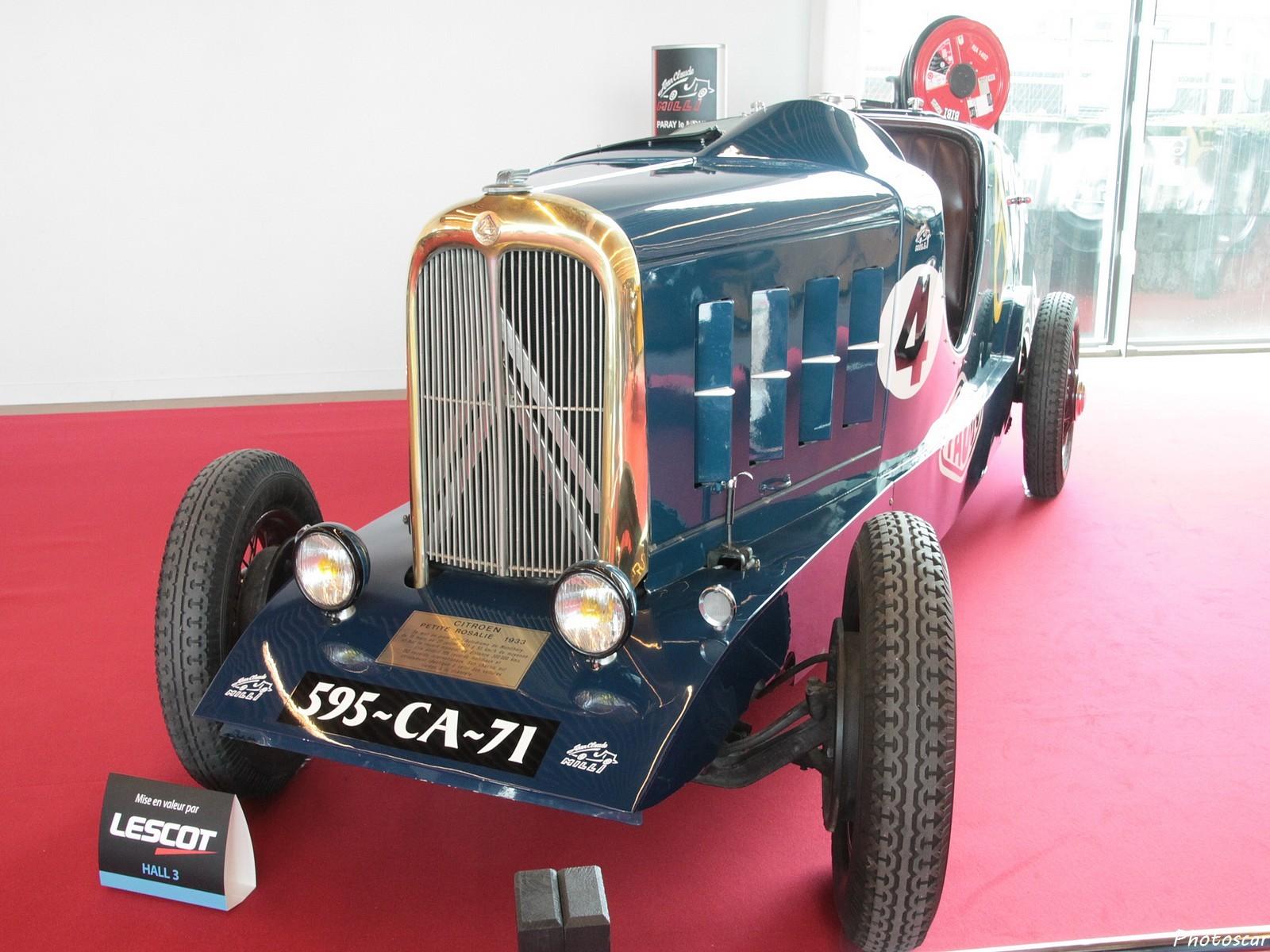 Citroen Petite Rosalie 1933 - Rétromobile 2018
