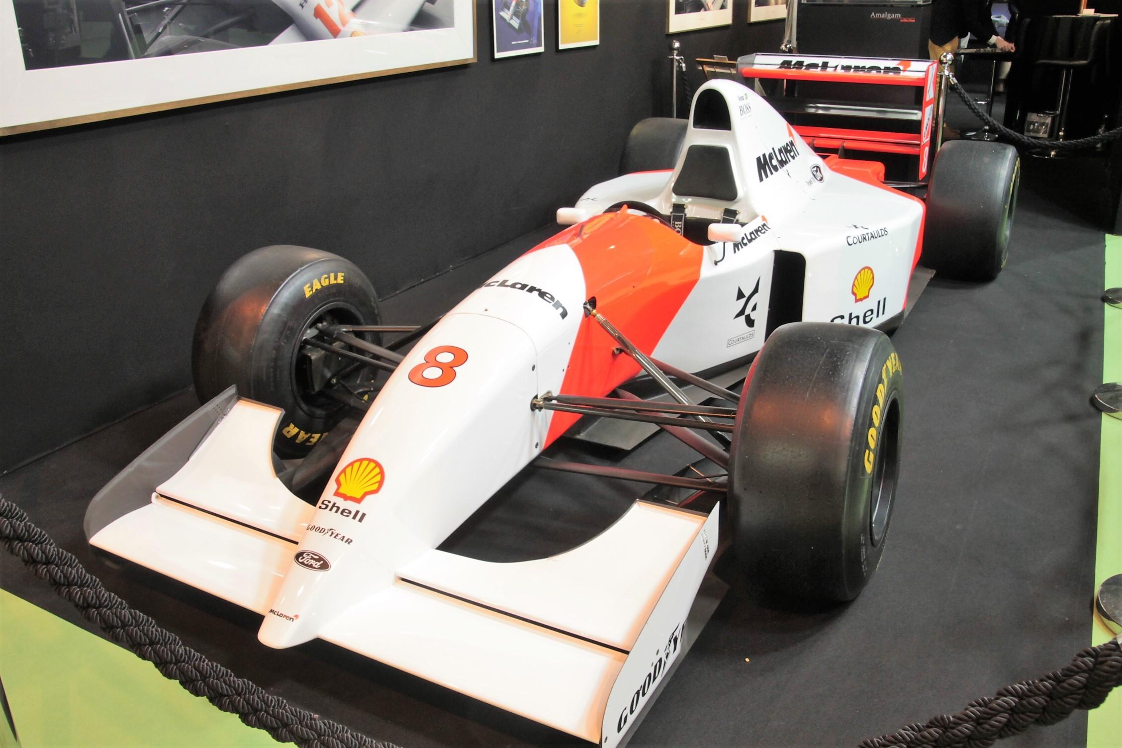 McLaren MP4-4 1988 - Rétromobile 2018