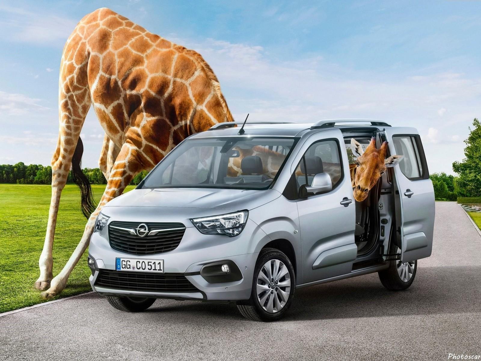 Opel Combo Life 2019, la sœur du Citroen Berlingo Multispace – Photoscar