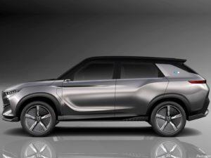 SsangYong e-SIV EV Concept 2018
