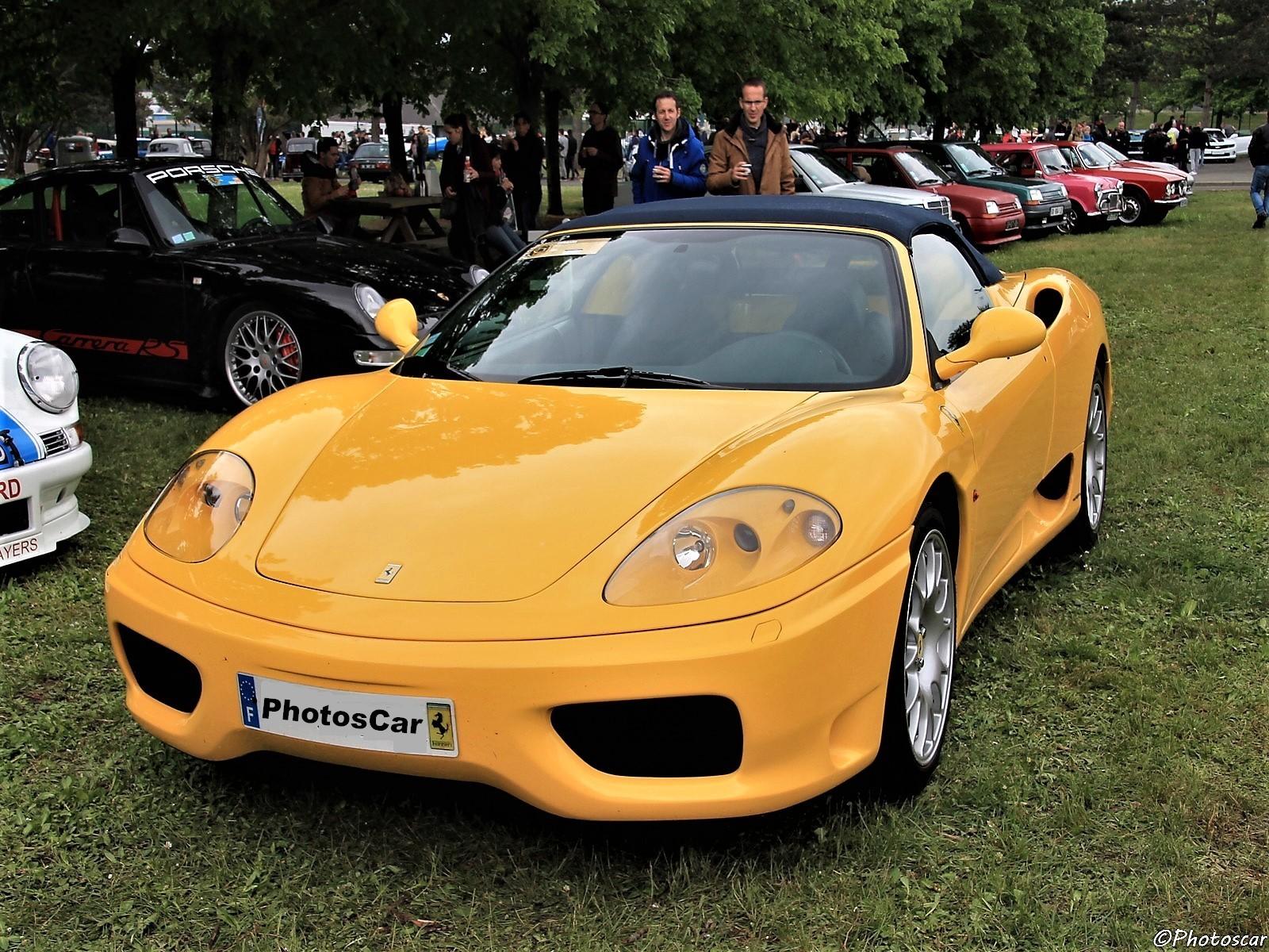 Histoire de la supercar Ferrari 360 – Des lignes pures et tout en aluminium.