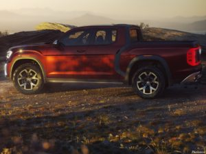 Volkswagen Atlas_Tanoak Pickup Concept 2018